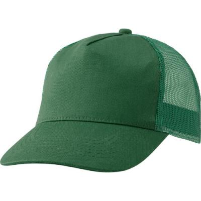 Image of Cotton twill and plastic cap