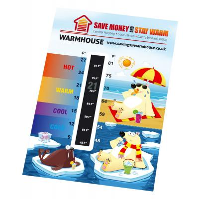 Image of Temperature Gauge Card